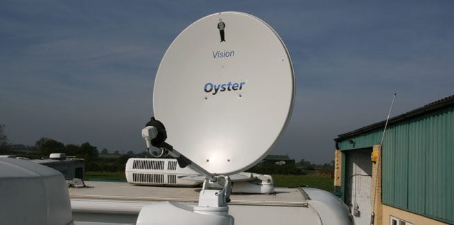 The Oyster Satellite