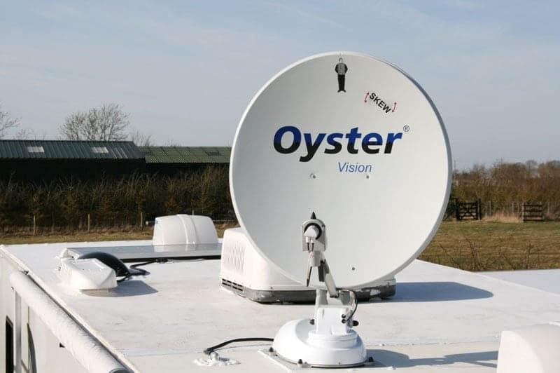 Oyster Satellite dish