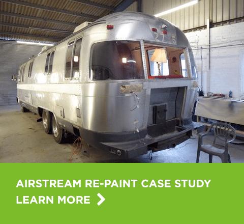 Airstream re-paint