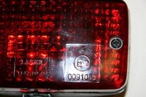Jayco American RV Motorhome fog lamp