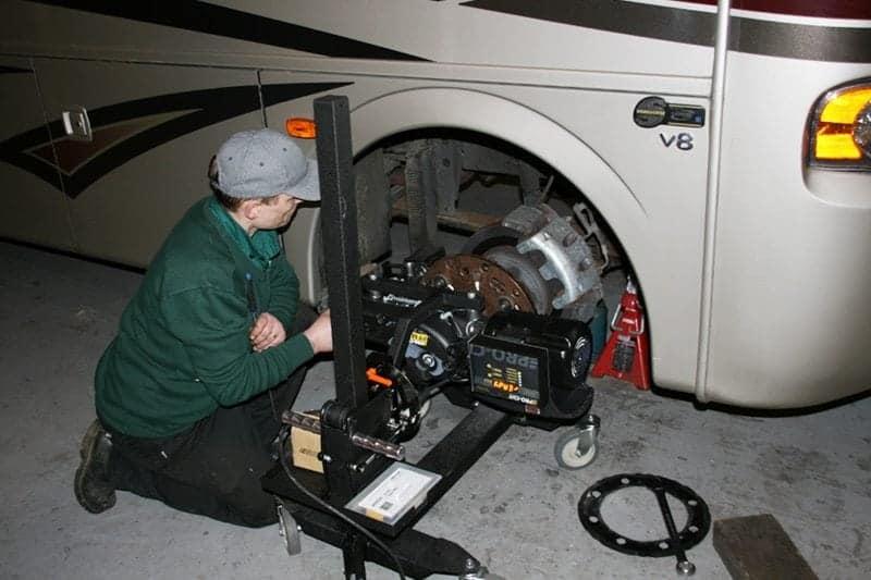 American RV Motorhomes with poor brake problems gallery item