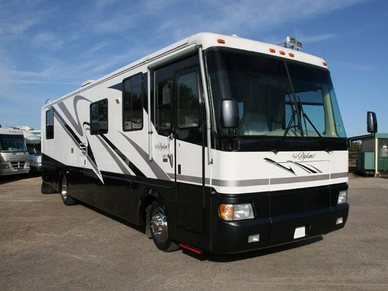 The American RV Motorhome Bodywork gallery item