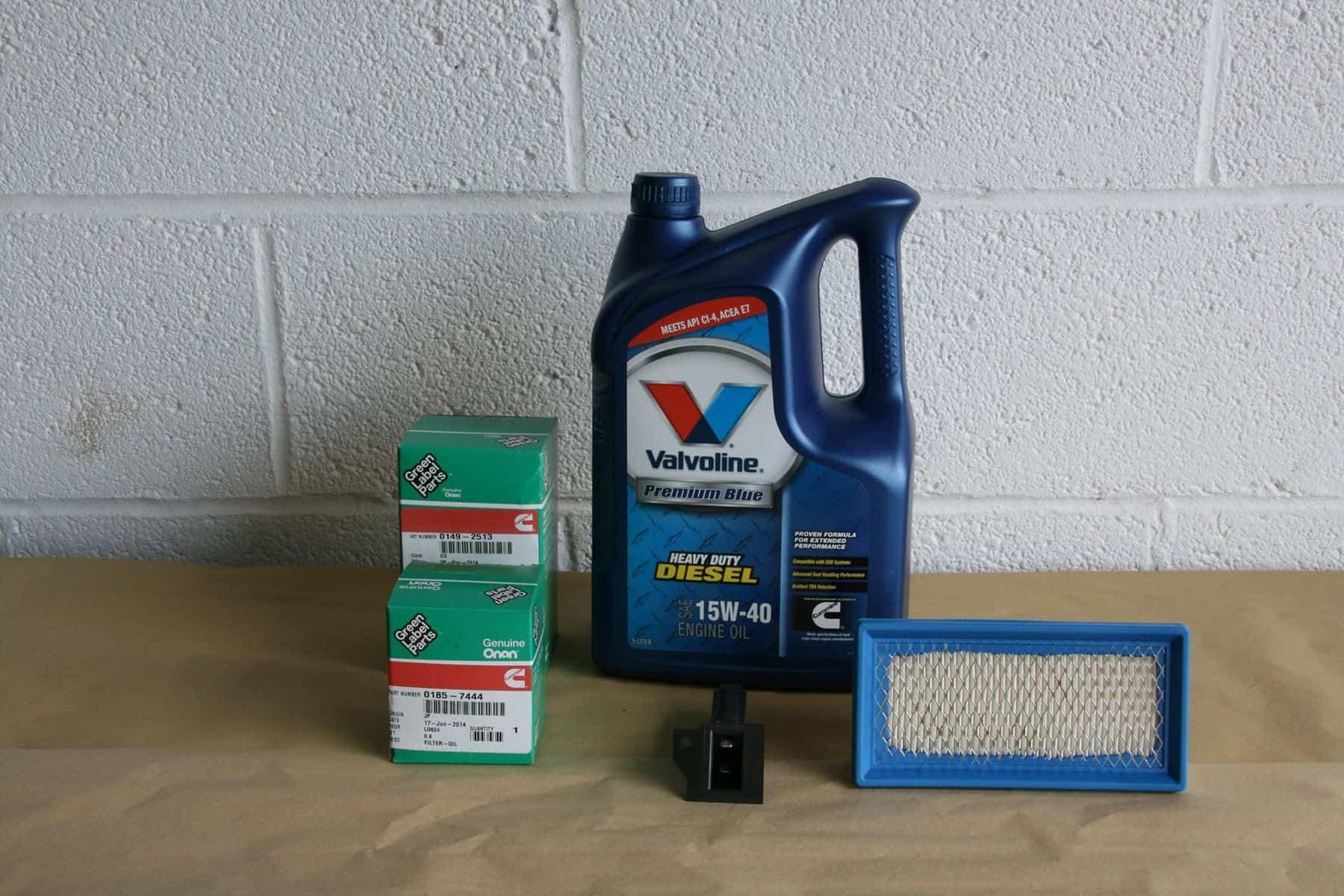 onan 500 hr service kit for hdkbb  u0026 hdkbc generator sets