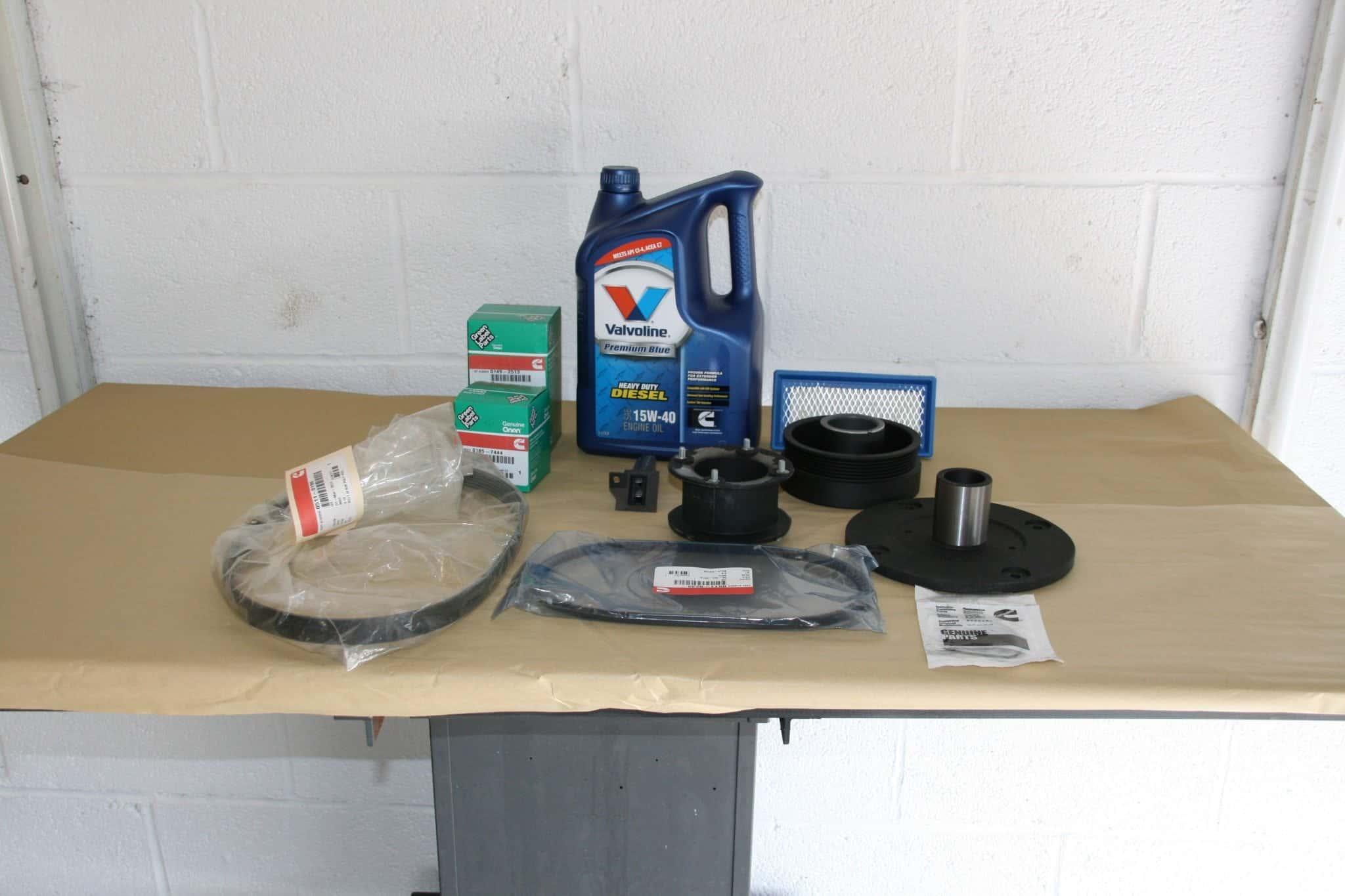 Diesel 5000 Hour Service Kit