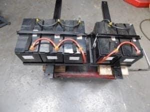 The bespoke battery tray