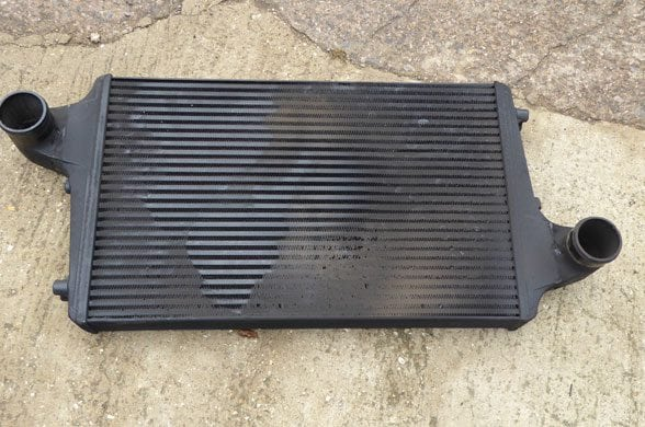 blocked intercooler