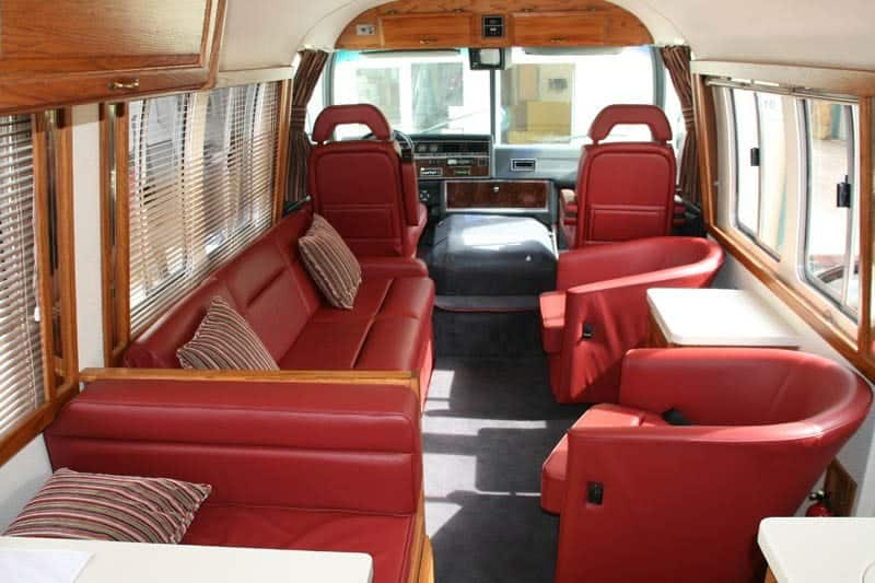 Airstream Motorhome interior