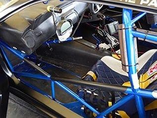 Simon Gough's new racing car