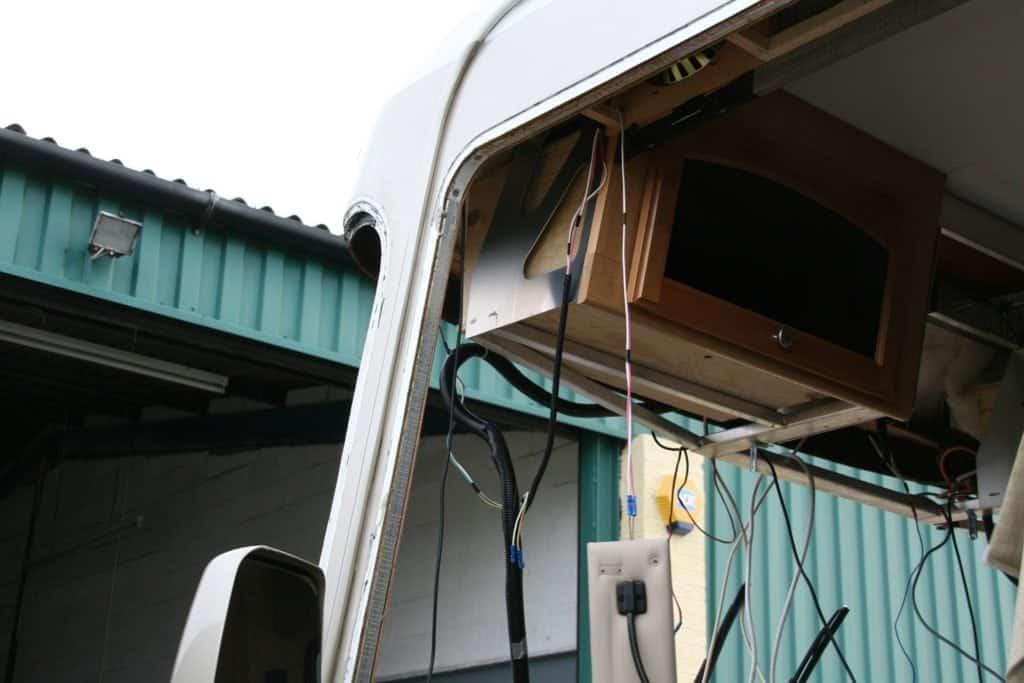 Fourwinds Hurricane Motorhome aluminium frame