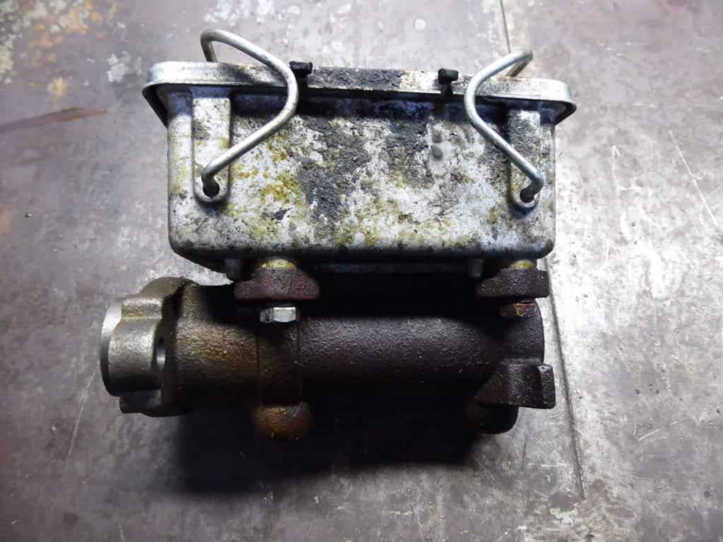 leaking master cylinder