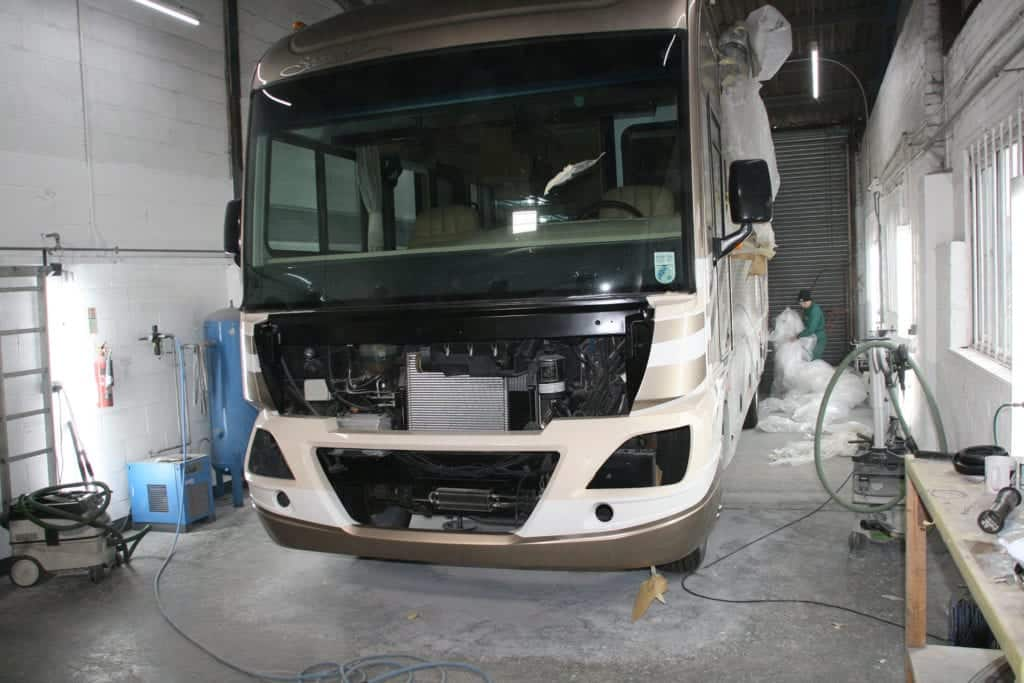 American RV Accident repair