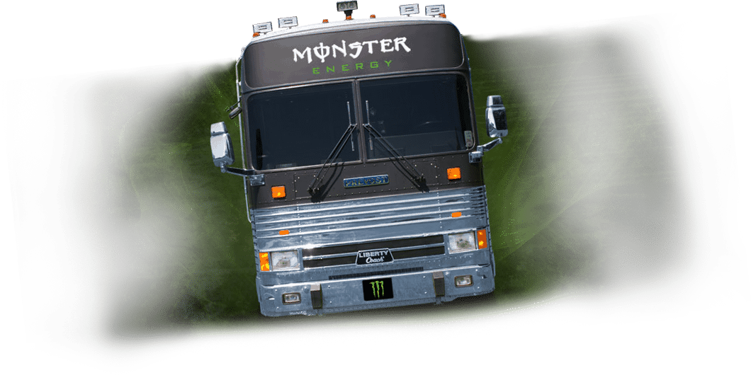 Monster Energy - Bus